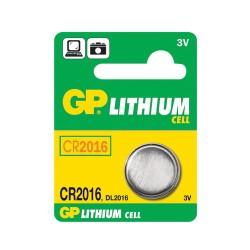 Batéria CR2016 GP líthiová