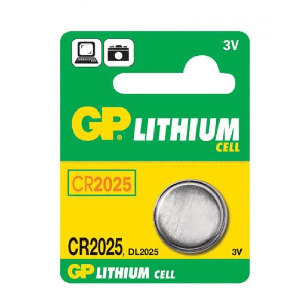 Batéria CR2025 GP lithiová