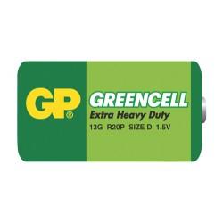 Batéria GP Greencell D fólia