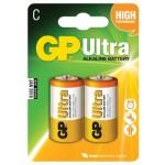 Batéria C (R14) alkalická GP Ultra Alkaline R14