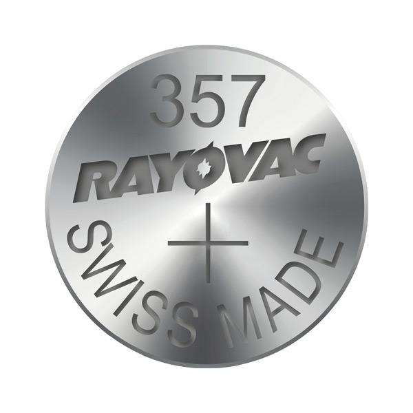 Gombíková batéria do hodiniek RAYOVAC 357