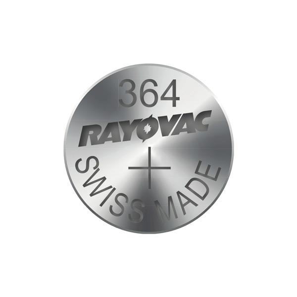 Gombíková batéria do hodiniek RAYOVAC 364