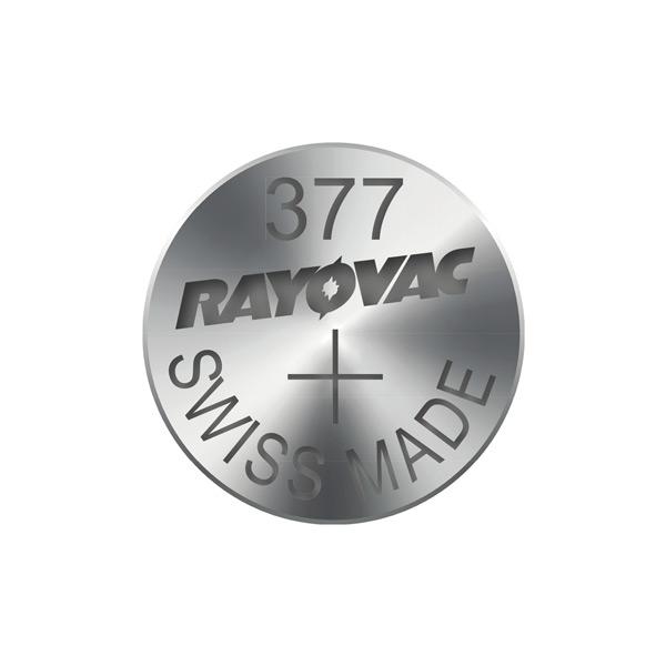 Gombíková batéria do hodiniek RAYOVAC 377