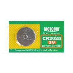 Batéria CR2025 MOTOMA lithiová