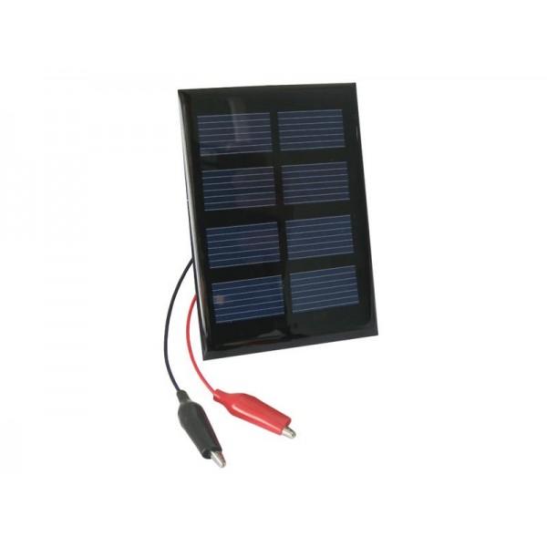 Fotovoltaický solárny článok 2V / 0,4W (panel) + káblové vývody