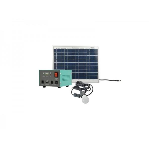 Fotovoltaický prenosný solárny systém MOTOMA 20W (Li-Ion)