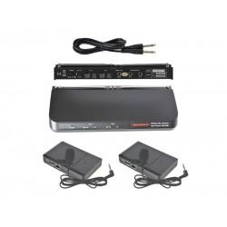 Bezdrôtový mikrofón WR202R+2xWT203P