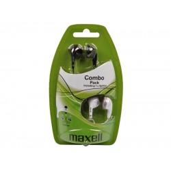 Slúchadla Maxell 303457 Combo Pack EBC2