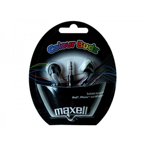 Slúchadla Maxell 303483 Colour Budz Black