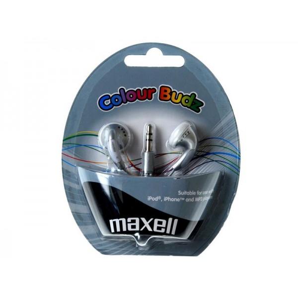 Slúchadla Maxell 303362 Colour Budz Silver