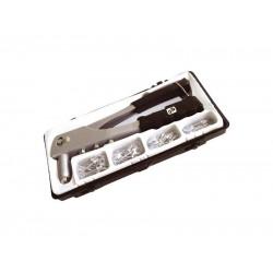 Kliešte nitovacie + sada nitov 60ks pre trhacie nity 2,4-3,2-4,0-4,8mm hliník