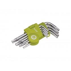 Sada L-kľúčov EXTOL CRAFT TORX 66010