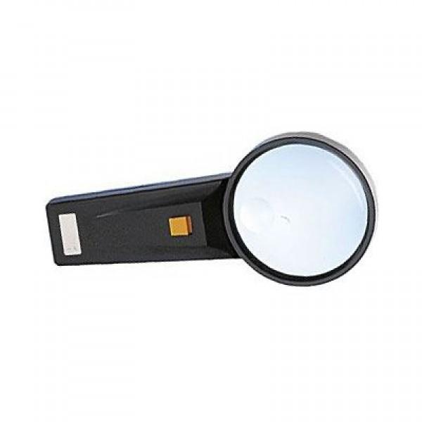 Lupa s osvetlením priemer 75mm, napájanie 2xAA