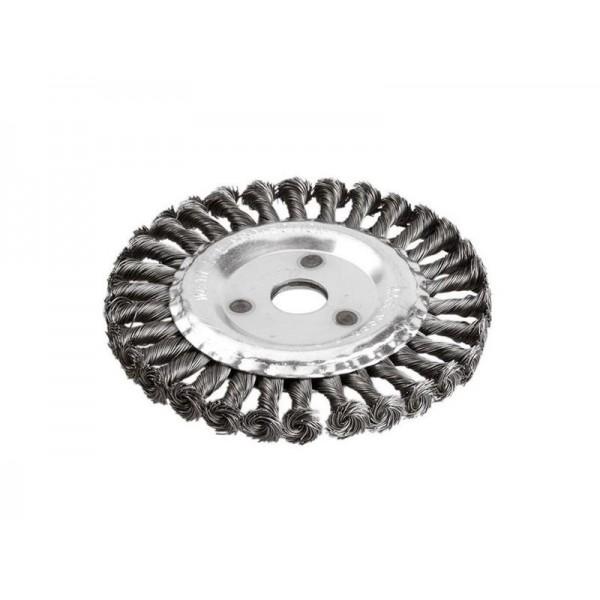 Kefa okružná vrkočová, oceľový drôt, O 178mm, vlnitý drôt S 0,5 mm, otvor 22,2 mm, EXTOL CRAFT 17030