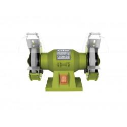 Brúska dvojkotúčová, príkon 150W, priemer kotúča diery 125 12,7mm, šírka 16mm, EXTOL CRAFT, 410120
