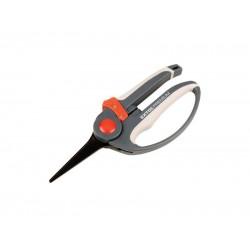 Nožnice záhradnícke priame 215mm, rukoväť s chráničom prstov, strihanie rastlín do pr. 5mm EXTOL PREMIUM