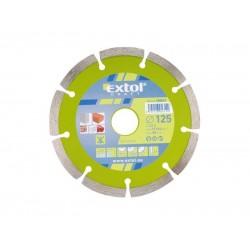 Kotúč diamantový rezný segmentový, 115x22,2mm, suché rezanie, EXTOL CRAFT 108811