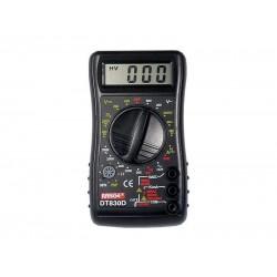 Multimeter DT830D RANGE s prezváňaním
