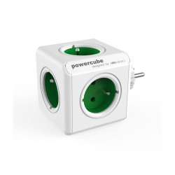 Zásuvka PowerCube ORIGINAL zelená