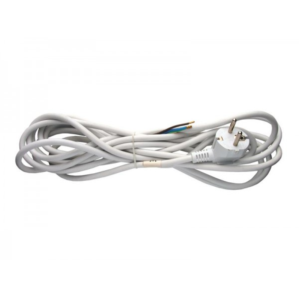 Flexo šnúra PVC 3x0,75mm 5m biela