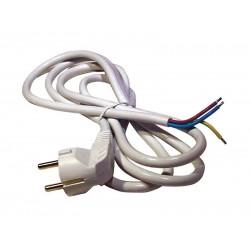 Flexo šnúra PVC 3x1,0mm 5m biela