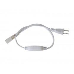 Flexo šnúra PVC pre LED pásiky 3528, 230V, 3m