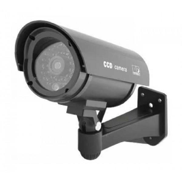 Atrapa kamery IR CCD, vonkajšia, čierna
