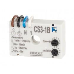 Časový spínač CS3-1B pre ventilátory s oneskorením