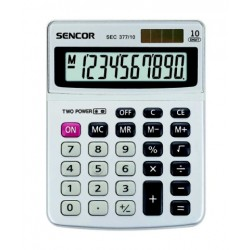 Kalkulačka stolová SENCOR SEC 377 10 DUAL