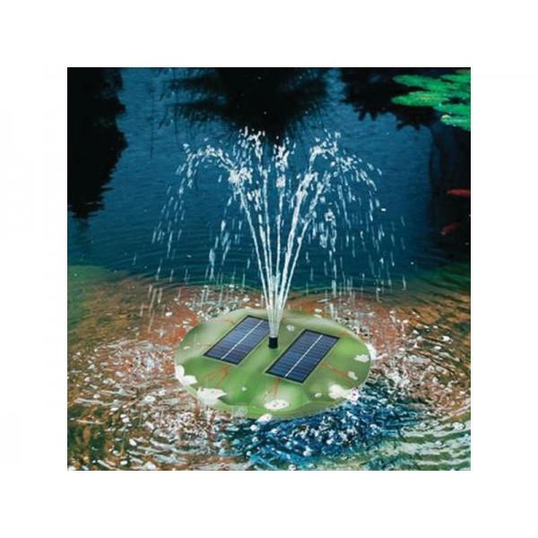 Esotec solárna plávajúca fontána