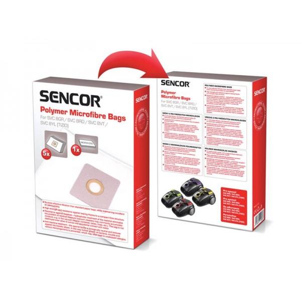 Vrecko SENCOR SVC 8YL VT Micro 5ks do vysávača