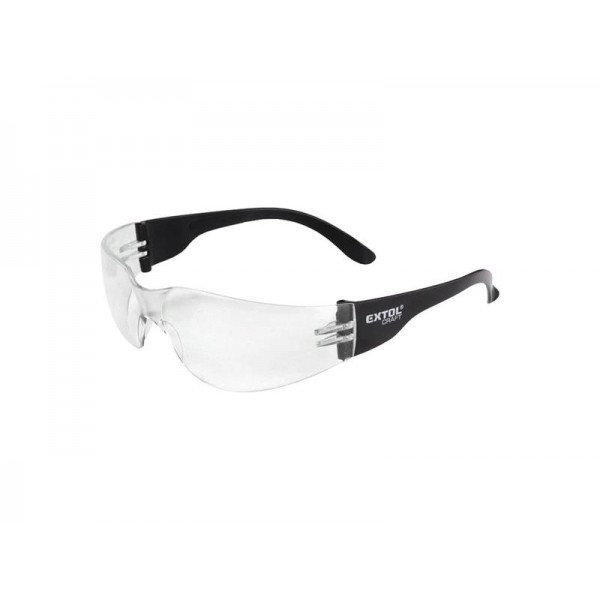 Okuliare ochranné, číre, EXTOL CRAFT