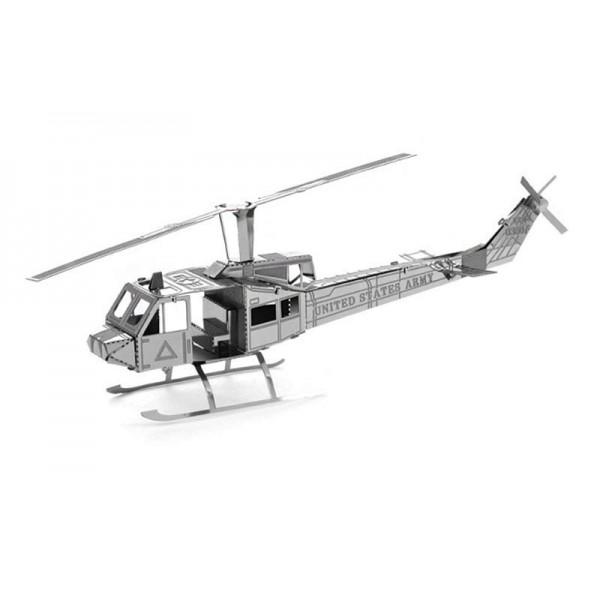 3D metallic puzzle Vrtuľník