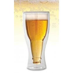 Pivný fľašový pohár