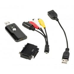 USB Video prevodník - prevod VHS do digitálnej podoby