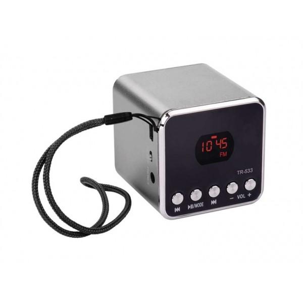 USB soundbox EMGO TR533B, šedý