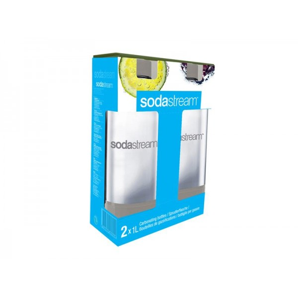 Sodastream fľaša 1l GREY Duo Pack