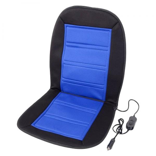 Vyhrievaný poťah sedadla s termostatom 12V LADDER modrý