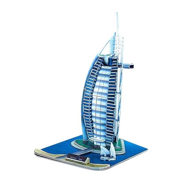 3D puzzle Burj Al Arab 32cm papierové