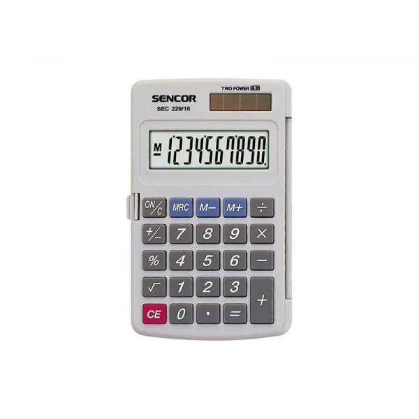 Kalkulátor vreckový SENCOR SEC 229/10 DUAL