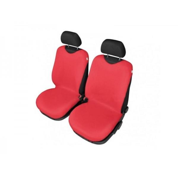 Autopoťahy Tričko BAVLA na predné sedadlá - červené