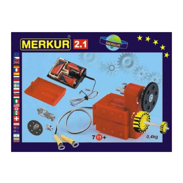 Stavebnica MERKUR 2.1 ELEKTROMOTORČEK