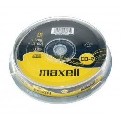 CD-R 700MB MAXELL 52x 10 ks