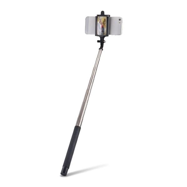 Selfie tyč so zrkadielkom FOREVER MP-310 čierna