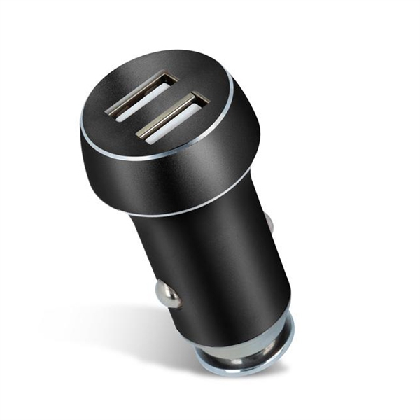 Nabíjačka do auta 2x USB 3100 mAh FOREVER čierna