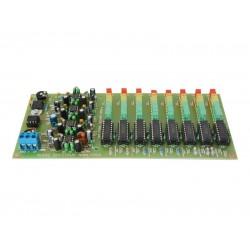 Stavebnica PT041 Audio spectrum analyzer