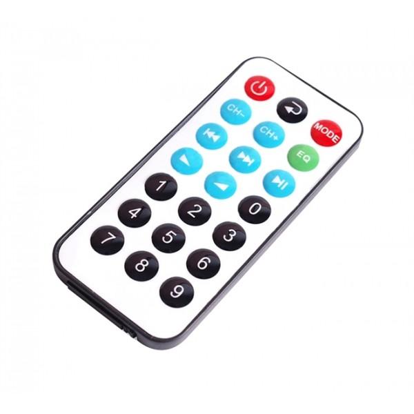 Diaľkové ovládanie pre MP3 prehrávače