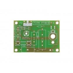 Plošný spoj PT019 Triakový regulátor výkonu 230V 12A