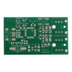 Plošný spoj PT037 USB zvuková karta s PCM2912