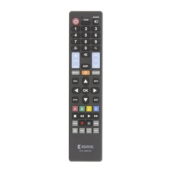 Ovládač TV SAMSUNG diaľkový KÖNIG KN-RCSS